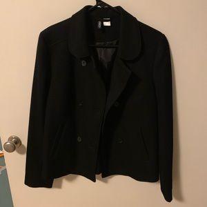 Peacoat style jacket